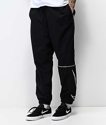 Nike SB Swoosh pantalones de chándal negros