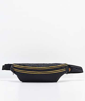 Ninth Hall Black & Orange Fanny Pack