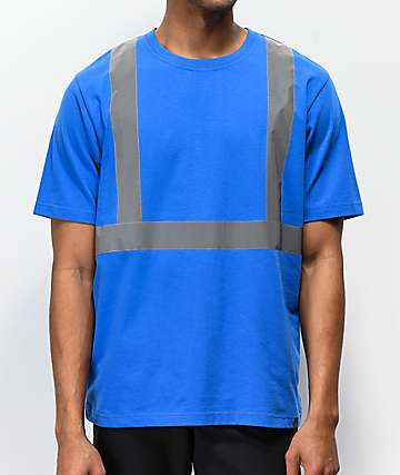 Ninth Hall Blinders Blue Reflective Knit T-Shirt