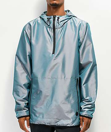 Ninth Hall Dixon Iridescent Silver Anorak Jacket