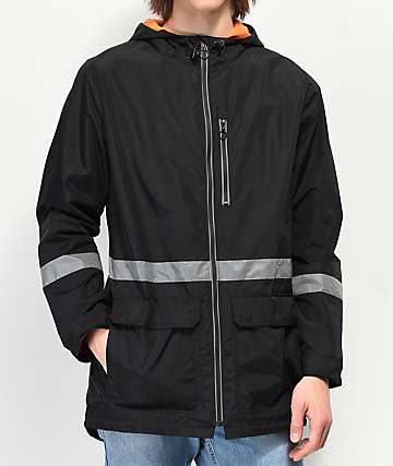 Ninth Hall Elijah Black Windbreaker Jacket
