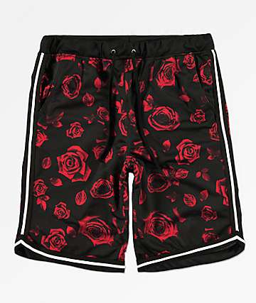 Ninth Hall Flex shorts de baloncesto de rosas