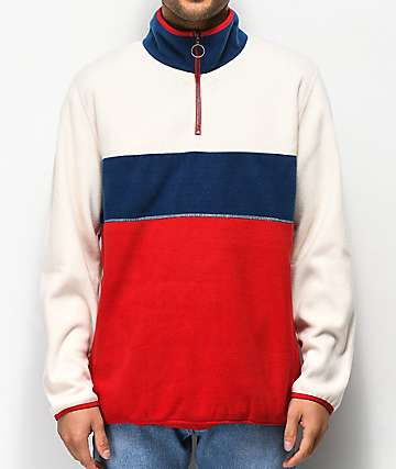 Ninth Hall Red, White & Blue Arctic Tech Fleece