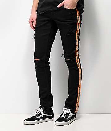 Ninth Hall Rogue jeans ajustados de mezclilla negra