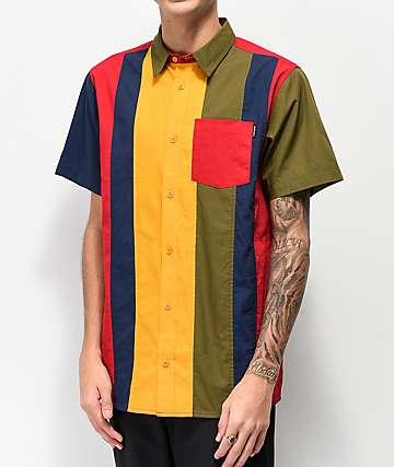 Ninth Hall Skip camisa de manga corta multicolor