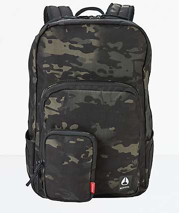 Nixon Daily Black Multicam Backpack