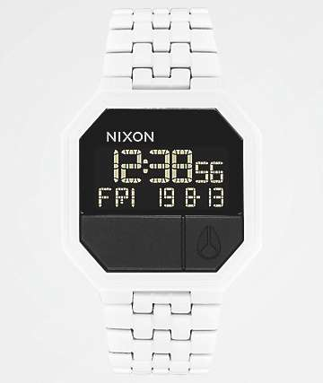 Nixon Re-Run White Digital Watch