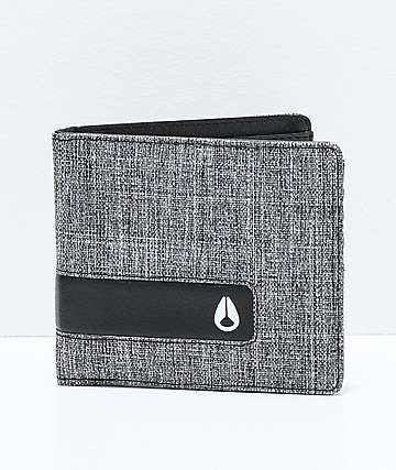 Nixon Showoff Black Wash Bifold Wallet