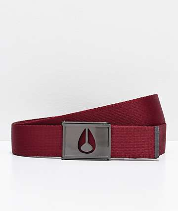 Nixon Spy Port Web Belt