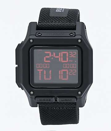 Nixon The Ripley Recco Safety Break Black Watch
