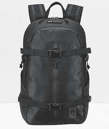 Nixon The Summit Recco Black Backpack
