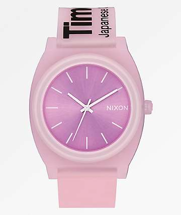 Nixon Time Teller Invisible Pink Analog Watch