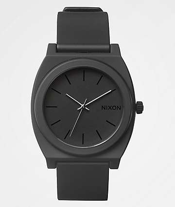 Nixon Time Teller P Matte Black Analog Watch