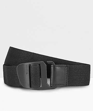 Cinturones de sujeción widek retro Collection con gancho Nirosta-gris oscuro con motivo
