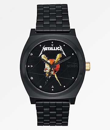 Nixon x Metallica Time Teller Pushead Black Watch