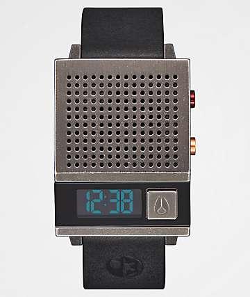 Nixon x Star Wars Dork Too Black & Silver Digital Watch