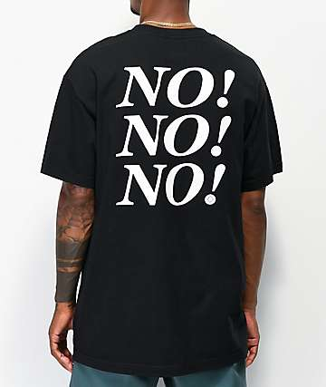 No Dice No Black T-Shirt