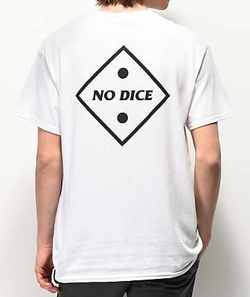 No Dice Two Dot White T-Shirt