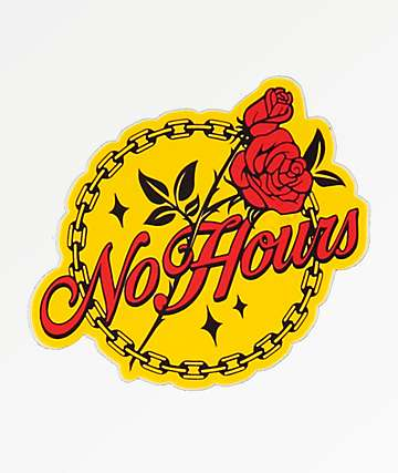 NoHours Bloom Sticker