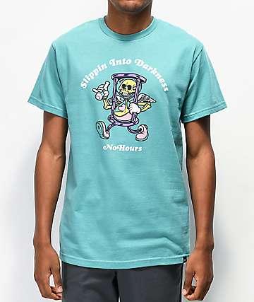 NoHours Darkness Seafoam T-Shirt
