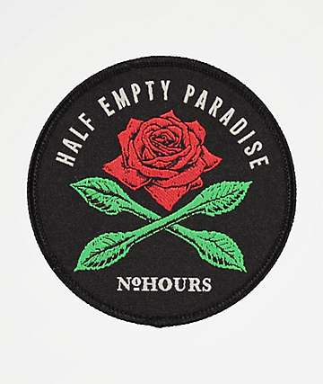 NoHours Half Empty Adhesive Patch