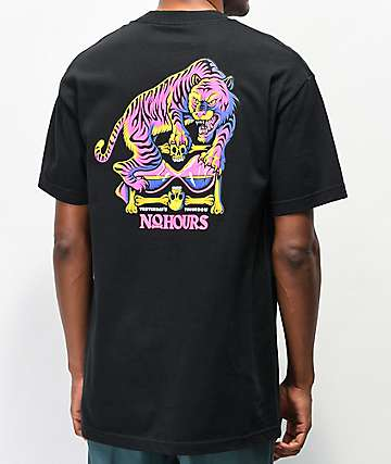 NoHours Le Tiger Black T-Shirt