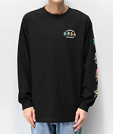 NoHours Vice Squad Black Long Sleeve T-Shirt
