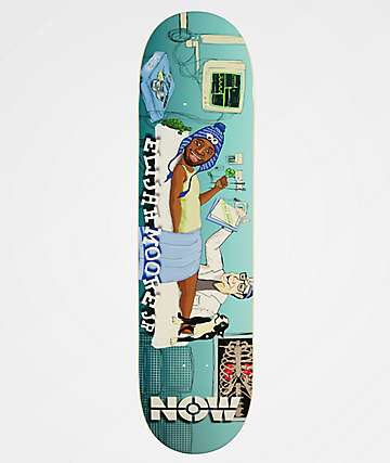 "Now Skateboards Operation EMJ 8.25"" Skateboard Deck"