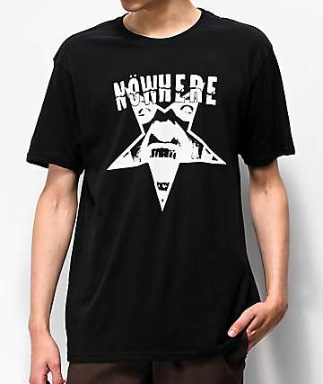 Nowhere Breakdown Black T-Shirt