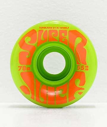 OJ Mini Super Juice 55mm 78a Green Cruiser Wheels