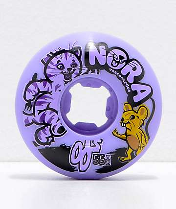OJ Nora Cat And Mouse 55mm Insane-A-Thane Skateboard Wheels