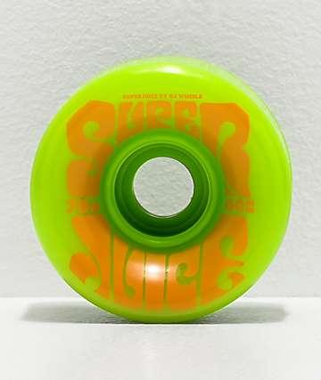 OJ Super Juice 60mm 78a Green Cruiser Wheels