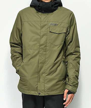 Oakley Division Olive BioZone 10K Snowboard Jacket