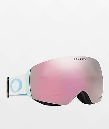 Oakley Flight Deck Grey & PRIZM Sapphire Iridium Snowboard Goggles