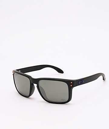 Oakley Holbrook Denver Broncos Matte Black Prizm Sunglasses