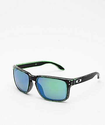 Oakley Holbrook Raceworn Green & Black Prizm Sunglasses