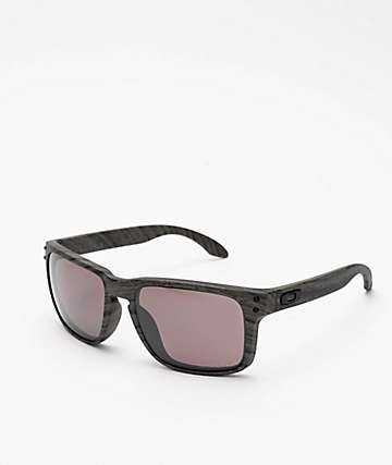 Oakley Holbrook Woodgrain Prizm Polarized Sunglasses
