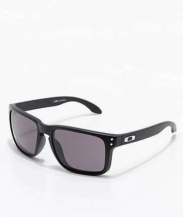 Oakley Holbrook XL Black & Warm Grey Sunglasses