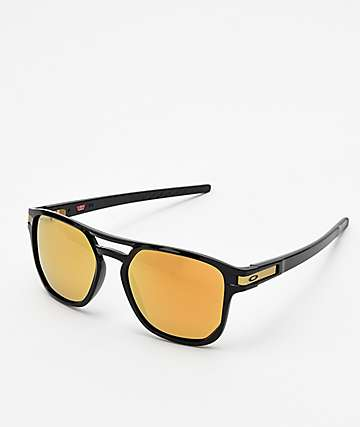 Oakley Latch Beta 24k Black Prizm Polarized Sunglasses