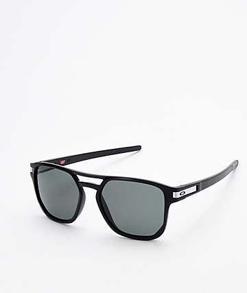 Oakley Latch Beta Matte Black & Prizm Grey Sunglassses