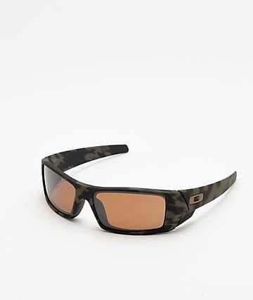 Oakley Matte Camo Prizm Tungsten Polarized Sunglasses