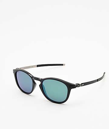 Oakley Pitchman Ink Black & Prizm Jade Sunglasses