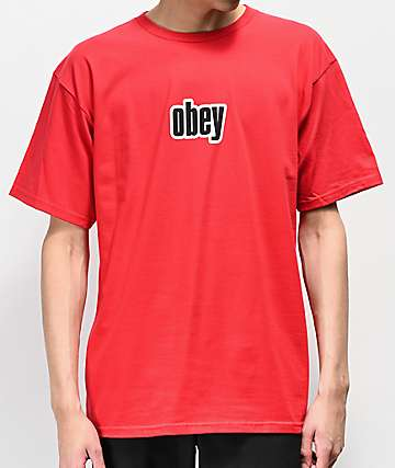 Obey 1990 Red T-Shirt