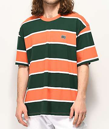 Obey Acid Classic Orange & Green T-Shirt