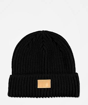Obey Afterlife Black Beanie