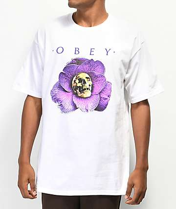 Obey Awakening White T-Shirt