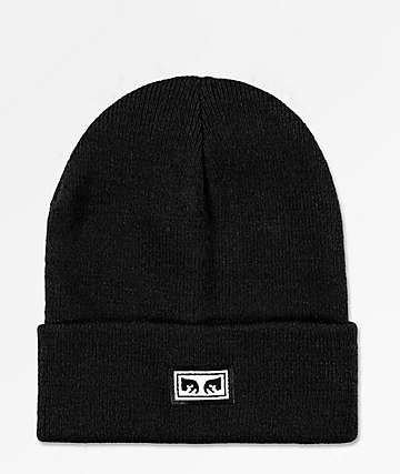 Obey Icon Eye Black Beanie