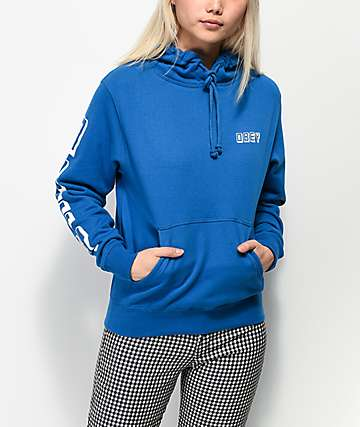 Obey New World 3 Sapphire Hoodie