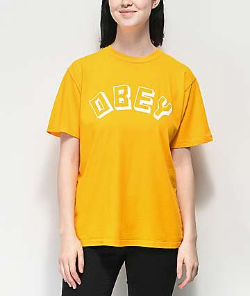 Obey New World Choice Autumn T-Shirt