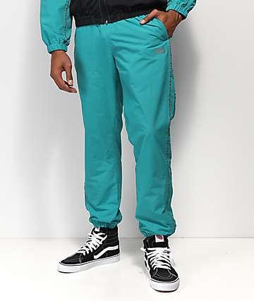 Obey Outlander pantalones de chándal en verde azulado